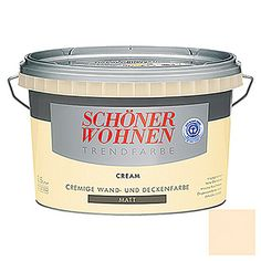Schöner Wohnen Trendfarbe (Cream, Matt, 2,5 l)