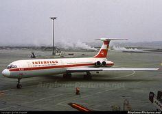 airlines interflug | DM-SEH - Interflug Ilyushin Il-62 (all models) at Berlin - Schönefeld ...