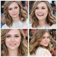 Elizabeth Olsen's hair