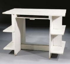 """On his Crate Furniture Rietveld commented, """"A piece of furniture made of high-grade wood and manufactured completely according to traditional production methods is transported in a crate to avoid damage…no one has ever ascertained that such a chest embodies an improvised, highly purposeful method of carpentry…there must therefore at long last be someone who chooses the crate rather than the piece of furniture. Crate Furniture, Furniture Making, Shipping Crates, Carpentry, Wood Pallets, Small Spaces, Woodworking, Diy Crafts, Traditional"""