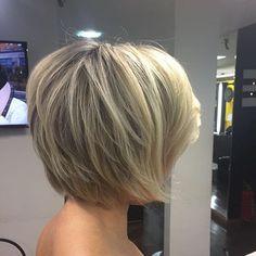 ✨Fechando nosso dia com esse curto lindo!! New Blond ❤️ #hairstylist #blond #loirodossonhos #job