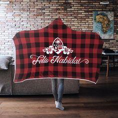 Felis Nabidat Chamorro Guam Seal Christmas Gift Hooded Blanket