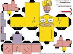 cubeecraft de los simpson [Megapost] - Taringa!