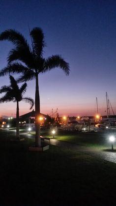 Bargara, Bundaberg, Qld. The marina at sunset.