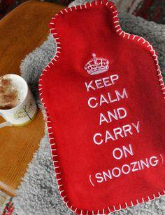 Keep warm...
