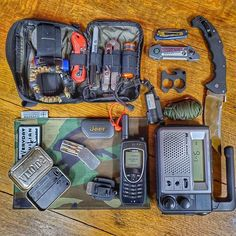 Going thru gear from stashed in my and getting organized. Need to loose a few items, what should I lose from this loadout? Keeping in mind it's for my Jeep and not a  Featuring the and by  Knives by   Comms by   22 WMR Pistol by   Urban Survival, Survival Tools, Urban Carry, 22 Pistol, Tactical Supply, Get Home Bag, Solo Camping, Hiking Accessories, Everyday Carry Gear
