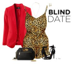 """""""What to wear: Blind Date"""" by ksims-1 ❤ liked on Polyvore featuring moda, Charlotte Olympia, Schutz, Kenneth Cole, David Yurman, Topshop, Palm Beach Jewelry, women's clothing, women e female"""