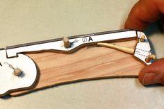 Wood Knife Kit Template