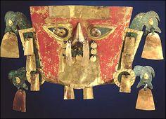 Mascaras Inca y precolombina. |
