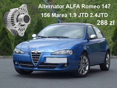 Alternator #ALFA# Romeo 147 156 #Marea 1.9 JTD 2.4JTD   ☎ 792 205 305 ➤ allegro@polstarter.pl ➤ http://bit.ly/polstarter  #alternator #rozrusznik