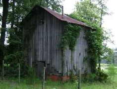 Brucker's old oak barn, Bear Creek, Chatham County, NC