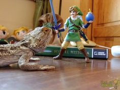 Figma Link figure - Dodongo boss time!
