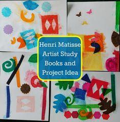 Our Unschooling Journey Through Life: Art Project #68-- Art Books & Artist Study