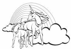 1001 Ideen Fur Ausmalbilder Einhorn Fur Kinder Malvorlage Einhorn Malvorlagen Pferde Einhorn Zum Ausmalen