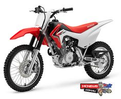 Honda CRF125F, The perfect first dirtbike?  http://www.mcnews.com.au/2014_Bikes/Honda/CRF125F/Honda_CRF125F_Intro1.htm