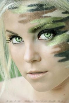 Military Girl Makeup - Yahoo Image Search Results