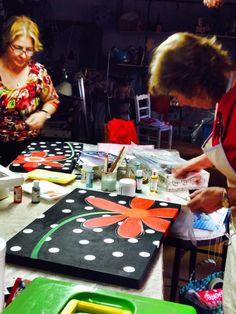 Hecho por Mirta López y Ethel Fernández en el taller de Rosita  Perosa