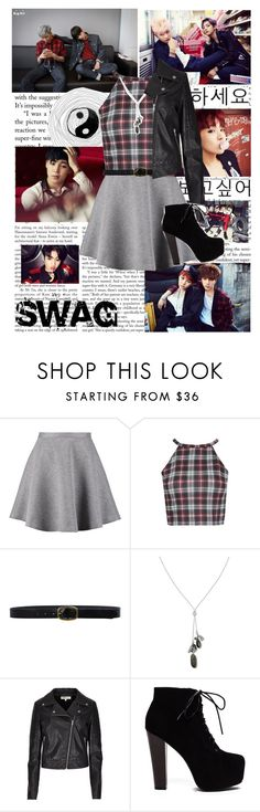 """""""Swag"""" by glitterlovergurl ❤ liked on Polyvore featuring Tiger of Sweden, Linea Pelle, Banana Republic, Limited Edition and bts"""