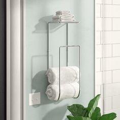 Creative Small Bathroom Organization Towel For Your Inspiration Bathroom Towel Storage, Towel Shelf, Bathroom Towels, Bathroom Cleaning, Bathroom Canvas, Bathroom Cabinets, Bath Towel Racks, Shiplap Bathroom, Towel Hooks