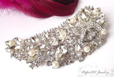 Wedding hair accessories wedding hair by nefertitijewelry2009, $47.00