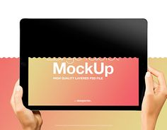 """Check out new work on my @Behance portfolio: """"Female Hands with Black Horizontal iPad Pro Mockup"""" http://be.net/gallery/47377823/Female-Hands-with-Black-Horizontal-iPad-Pro-Mockup"""