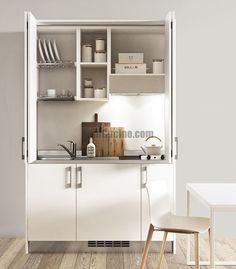 Cucine a scomparsa, Mini Cucine monoblocco | House
