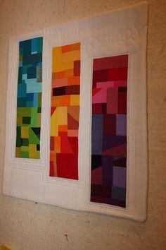 Gruber's Swap for Amanda Jean | Use Your Scraps mini quilt | Flickr