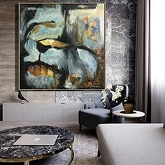 Original Abstract Painting Minimalist Art Large Modern Wall Art, Hand Painted Canvas Painting, Thick Layers, Full of Rich Textures Large Canvas Art, Abstract Canvas, Canvas Wall Art, Painting Abstract, Art Texture, Texture Painting, Colorful Paintings, Your Paintings, Art Jaune