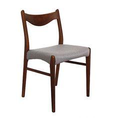 Retro chair - Arne Wahl Iversen  http://www.sashe.sk/retro-design/detail/stolicka-od-arne-wahl-iversena