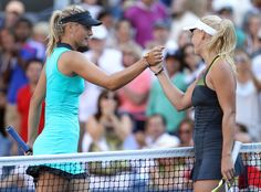 Caroline Wozniacki & Maria Sharapova