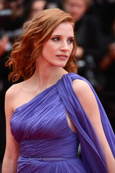 From the Renaissance era. | 31 Times Jessica Chastain Made Us Believe In A Higher Power