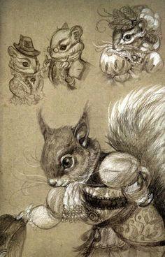 Дюймовочка и четыре времени года Иллюстратор Annie Stegg, 2014