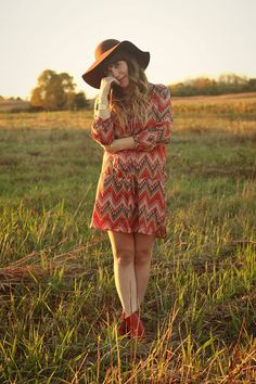 Late summer, or fall. Most perfect outfit! <3