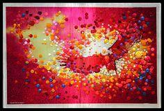 Red Eagle - Divine Messenger. $590.00, via Etsy.