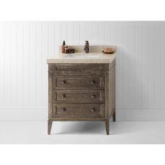Ronbow Laurel 30-inch Bathroom Vanity Set in Vintage Cafe | Overstock.com Shopping - The Best Deals on Bathroom Vanities