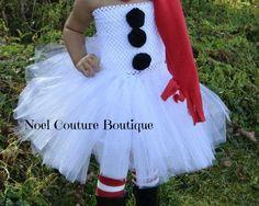 Winter Snowman Tutu Dress By Noel Couture Boutique