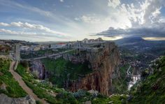 Constantine, The third biggest city of Algeria, capital of the East, The City of suspended brdiges. Constantine (Arabic:Arabic: قسنطينة) is the. Algeria Travel, Africa Travel, Beau Site, Beautiful Castles, Beautiful Places, Amazing Places, World Heritage Sites, Where To Go, Cool Places To Visit