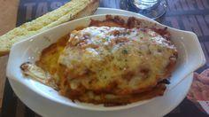 lasagna from Shakey's