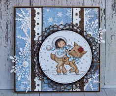 Christmas card created for Papirdesign!