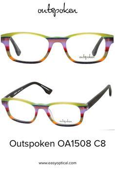 OUTSPOKEN OA1508 C8 Eyewear, Glasses, Easy, Men, Style, Swag, Eyeglasses, Eyeglasses, Guys