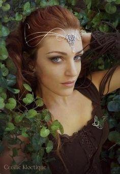 Elven crown and leaf of Lorien by dina.brown.102