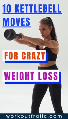 You don't need a full-blown home gym, you can achieve so much with just a kettlebell, as it's such a versatile equipment piece. Especially, if you implement some of the best kettlebell exercises listed in this article. These are some of the best kettlebell exercises to work your whole body, get leaner, and stronger. #kettlebellworkout #kettlebellexercise #homeworkout Best Kettlebell Exercises, Functional Workouts, Arms And Abs, Fat Burning, At Home Workouts, Burns, Weight Loss, Good Things, Gym