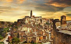 UNESCO Cave town: Matera, Italy -
