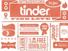 Tinder Flyer by Christopher Paul