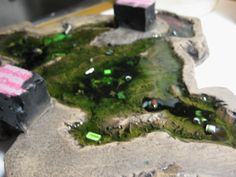 CoolMiniOrNot Forums - MasterKlazz tutorial : Resin Pools and Ponds