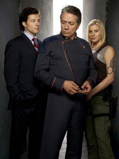 Battlestar Galactica - Starbuck, Apollo and Adama
