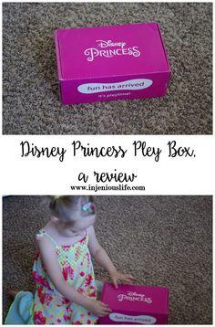 Disney Princess Pley Box, a review (ad)