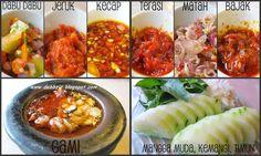 7 kind of sambals