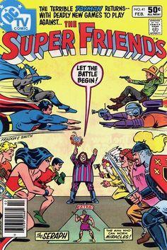 Super Friends by Ramona Fradon