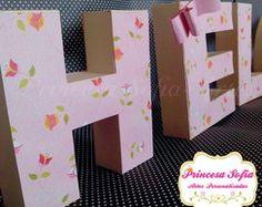 3D Paper Letter